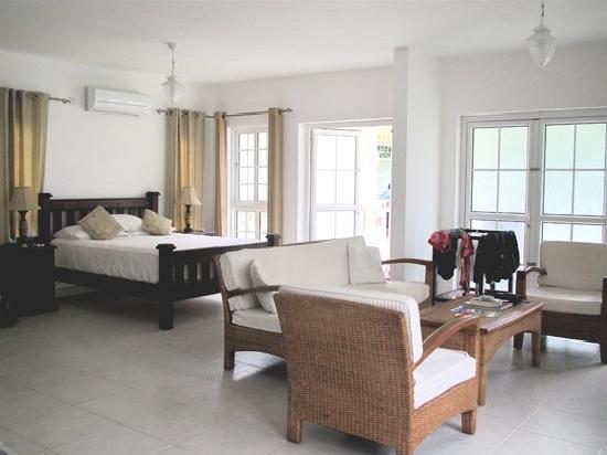 Bord mer villa interior