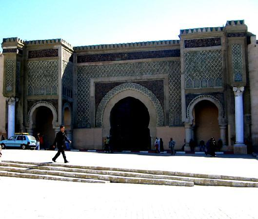 Mequinez, Marruecos: Stadttor Meknes