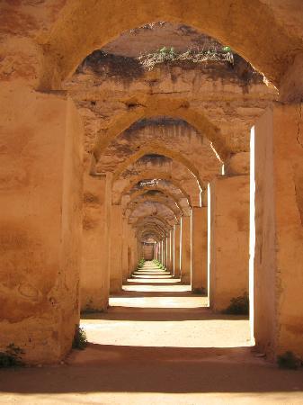Mequinez, Marruecos: Getreidespeicher Meknes