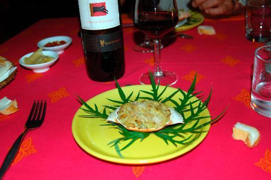 Sakatia Lodge: buen peixe y marisco