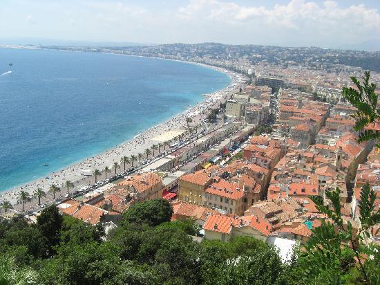 Niza, Francia: Promenade des Anglais