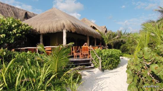 Cabanas La Luna: Restaurant Las Estrellas
