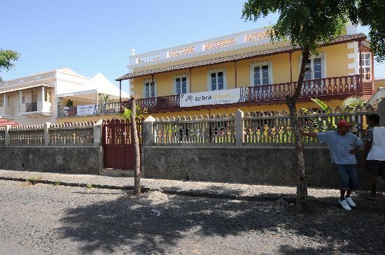 Sao Filipe, Kaapverdië: facade