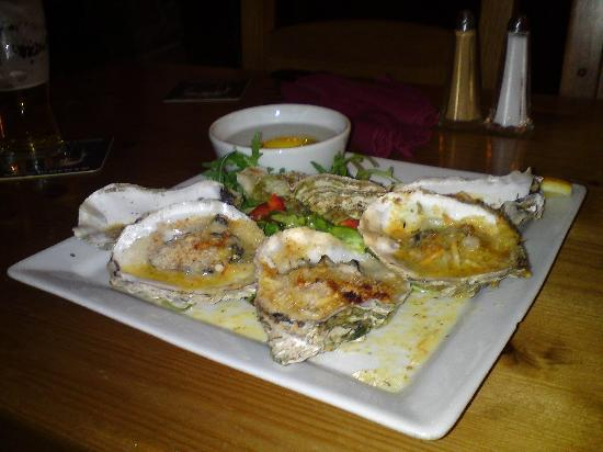 The Swan: Oysters.  Delicious.