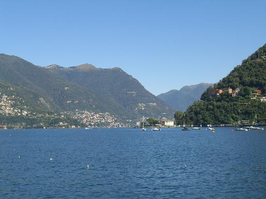 Como, Italy: View of the lake