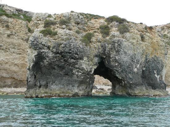 Syrakus, Italien: Mainland Siracusa Sea Caves Boat Excursion