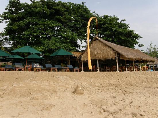 Novotel Bali Benoa: Playa Hotel y su cafeteria Coco Beach