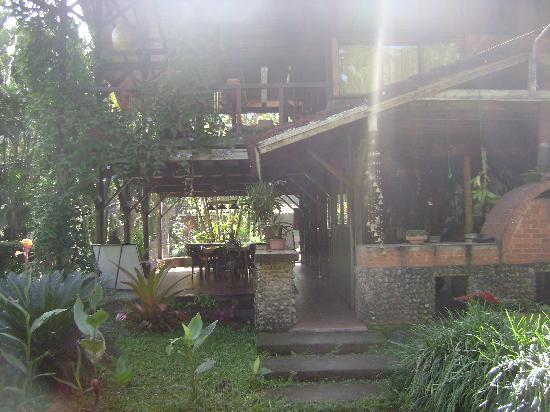 Hotel Rustico de Playa Perla Negra: Vista al Restaurante