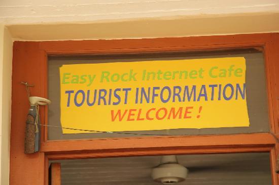 Easy Rock Internet Cafe: Internet