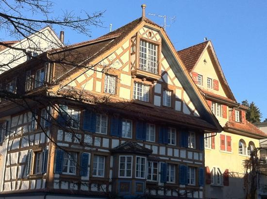 Zug, Suiza: old house