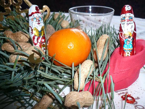 An der alten Porzelline: Weihnachtliche Stimmung im Restaurant