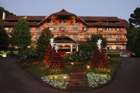 Hotel Casa da Montanha: natal casa montanha