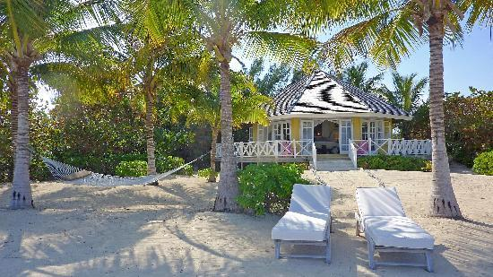 Kamalame Cay : Wild Dilly - our beachfront bungalow