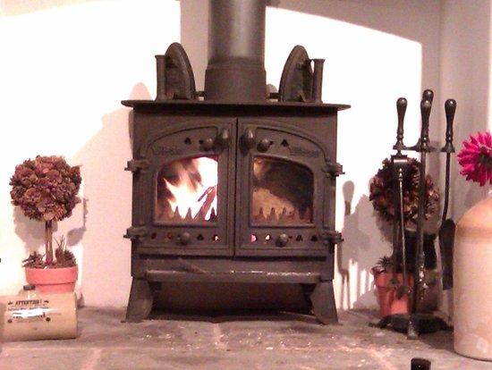 Hen Glyn: Gorgeous fire.