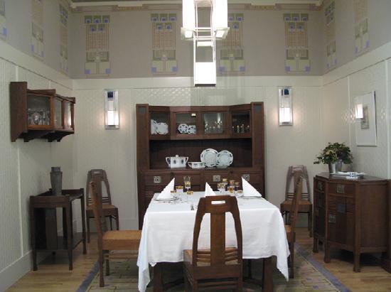 Darmstadt, Germany: Das Wertheim-Zimmer im Ernst-Ludwig-Haus: 100 Prozent Jugendstil