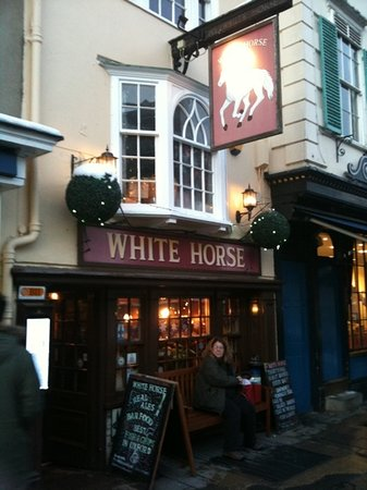 The White Horse: great British pub with great home cooked food