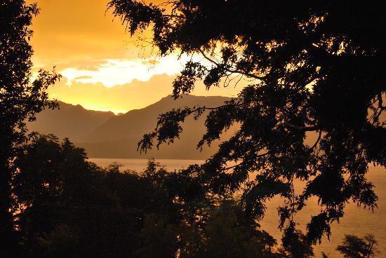Hosteria Belvedere: al tramonto