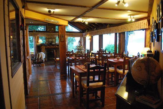 Hosteria Belvedere: la sala da pranzo