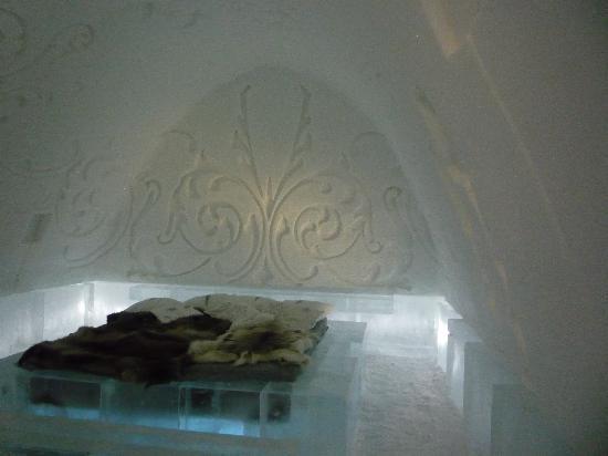 Icehotel: Suite de Luxe