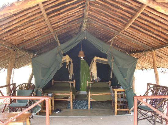 Kibo Safari Camp: La tenda che ci ha accolto