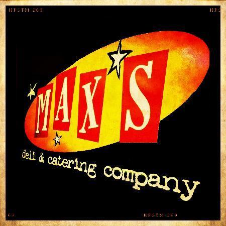 Max's Deli & Catering : Vintage MAX'S DELI logo