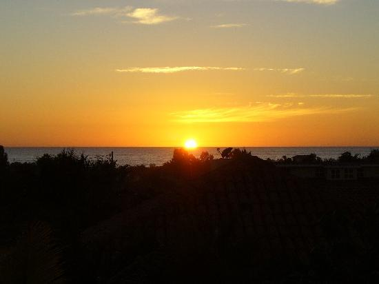 Casa Rancho: Sunset from the rooftop terrace
