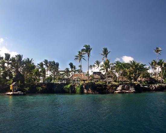 Paradise Taveuni: Paradise frfom the dive boat