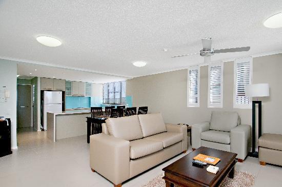 Pacific Beach Resort: Oceanview apartment