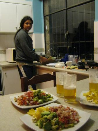 Posada Tambuca: Rica comida