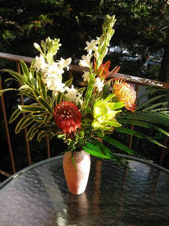 Hale Maui Apartment Hotel: amazing tropical blooms from Farmer's Mkt