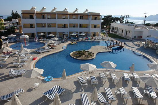 Matina Pefkos Aparthotel: Second Pool