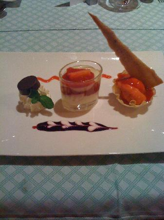Hotel Die Post - Ronacher: One of the many creative and delicious deserts