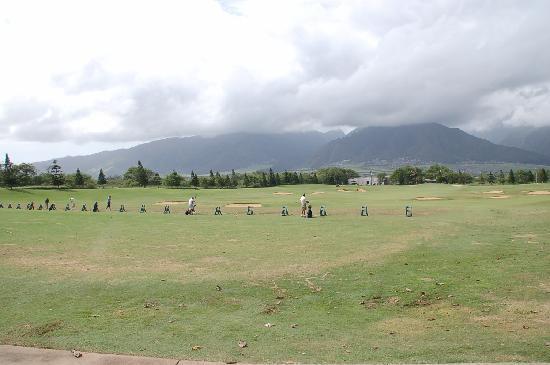 The Dunes at Maui Lani Golf Course: ザ・デューンズゴルフ練習場