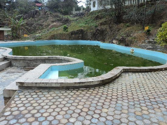 Royal Hotel & Healthcare Resort Quy Nhon: neglected pool, a health hazard