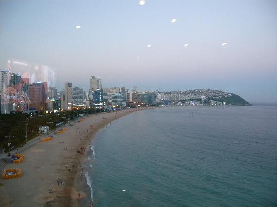 The Westin Chosun Busan: ラウンジからの眺望