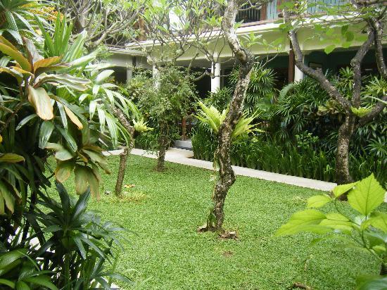 Puri Damai: gardens