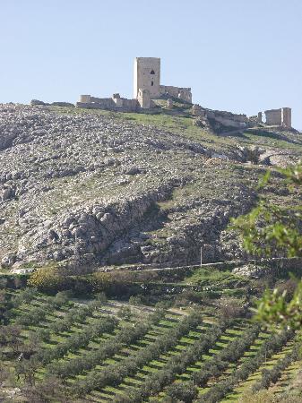 Castillo de la Estrella en Teba, en el interior de la Torre del Homenaje  C.I Cruzada en Guadalt