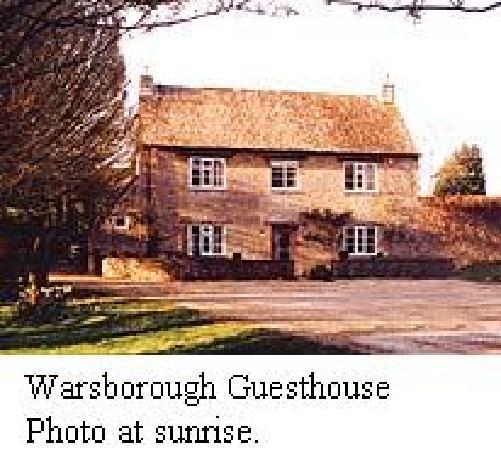 Warsborough House: Warsborough Guesthouse in the morning sun