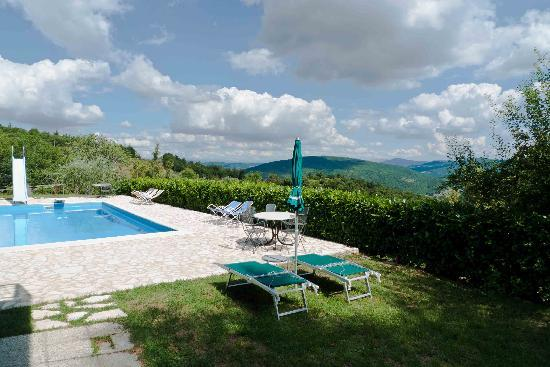 Agriturismo Acquaviva: Superb view