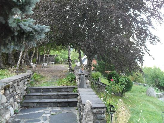 Les Terrasses de Saubissan : Le jardin