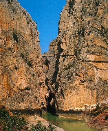 Ardales, İspanya: Caminito del Rey