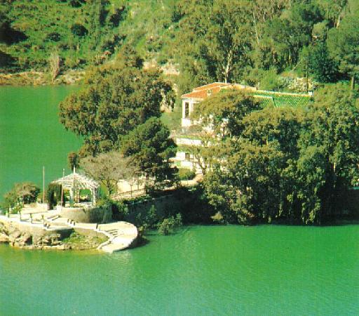 Ardales, Spain: Vista de la casita del conde