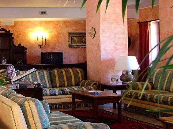 Castelmola, Włochy: Hall Hotel Villa Sonia