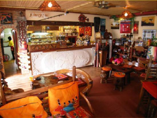 One World Cafe & Bistro: inside one world cafe