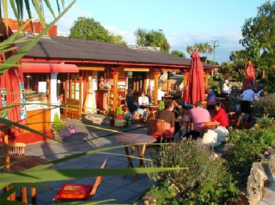 One World Cafe & Bistro: outside one world cafe