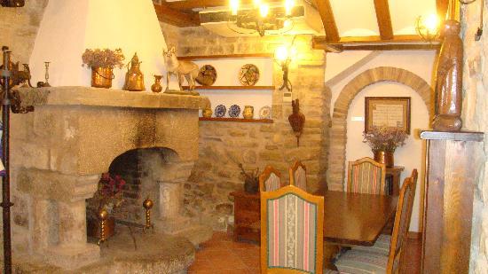 Hotel Merindad de Olite: sala colazione