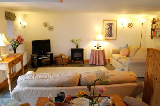 Downe Cottages: The Lounge in Wistaria