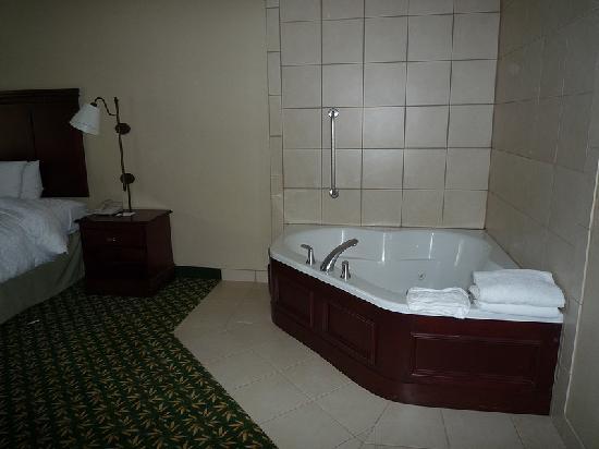 Hampton Inn & Suites Berkshires-Lenox: ...with jacuzzi!