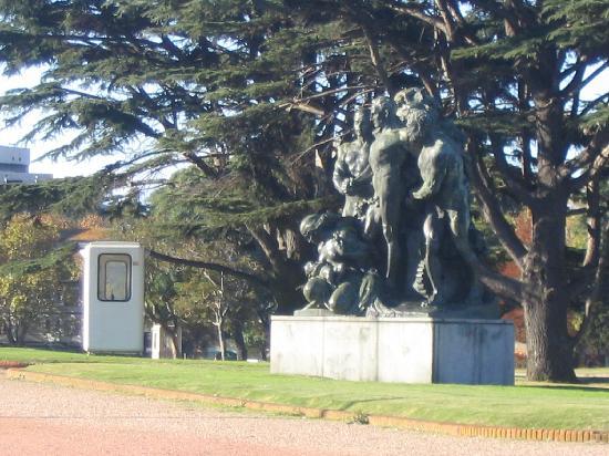 Montevideo(Uruguay) Monumento Guarani