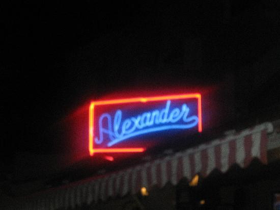 Alexander Restaurant Los Cabos: Alexander's at night